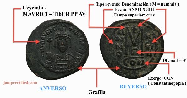 JAMP, Folis bizantino Mauricio